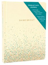 Jurnal - Shine Bright Productivity - Cream | Hachette - Agende, jurnale, carnete (1)