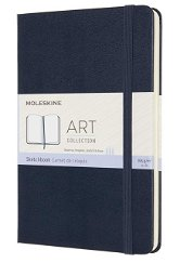Carnet - Moleskine Art Sketchbook - Medium, Hard Cover, Plain - Sapphire Blue | Moleskine - Agende, jurnale, carnete (1)